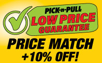 Price match plus 10 percent off
